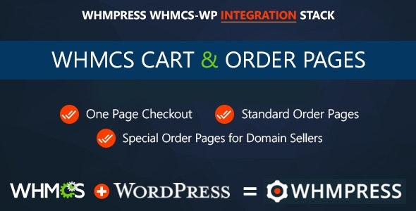 WHMCS Cart & Order Pages v3.9 Nulled (One Page Checkout Rev 7)