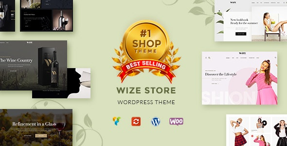 WizeStore Theme v1.14.8 Nulled