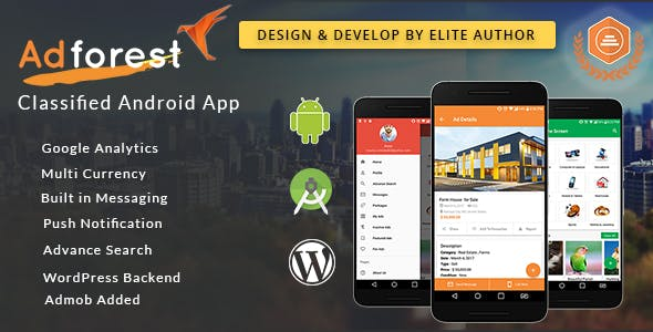 AdForest v3.9.3 Nulled (Classified Native Android App)