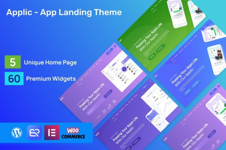 Applic Theme v1.4.1 Nulled