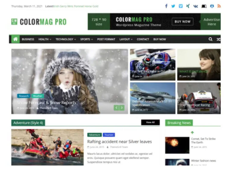 ColorMag Pro Theme v3.2.3 Nulled