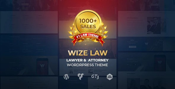 WizeLaw v1.5.7 Nulled (Law Lawyer and Attorney)