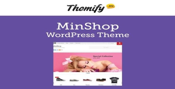 Themify Minshop WooCommerce Themes v5.3.8 Nulled