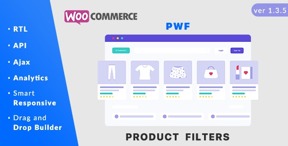 PWF v1.4.8 Nulled (WooCommerce Product Filters)