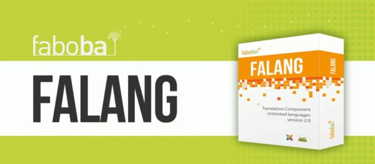 FaLang PRO v4.0.1 Nulled (display of a site in different languages Joomla)