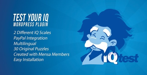 Test Your IQ v1.3 Nulled (WordPress Plugin)