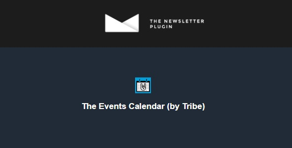 Newsletter v1.1.8 Nulled (The Events Calendar by Tribe)